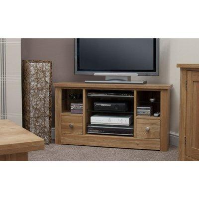 Homestyle Torino Oak Corner TV Unit