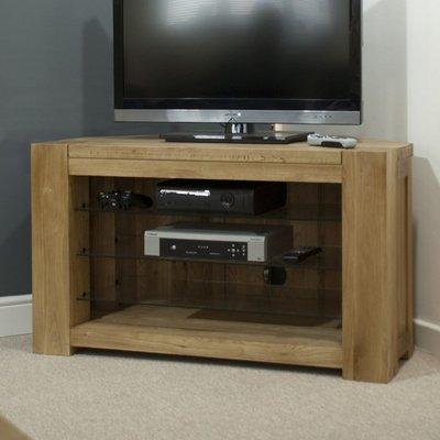 Homestyle Trend Oak Corner TV Unit