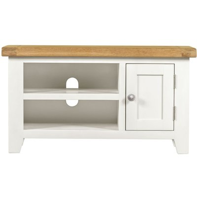 Lundy White TV Unit - Small