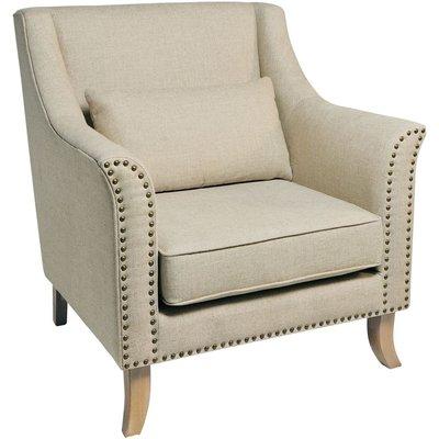 Rowico Stella Fabric Armchair - Cream