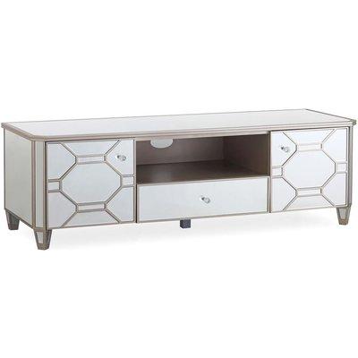 Vida Living Rosa Mirrored TV Cabinet