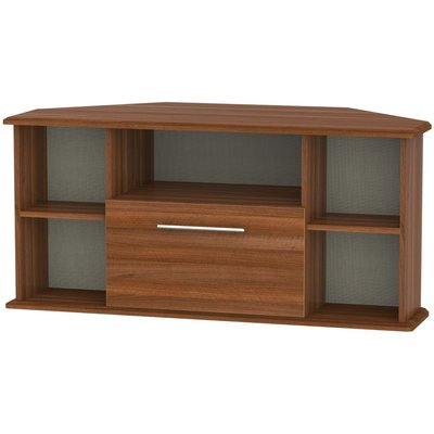 Welcome Living Room Furniture Noche Walnut TV Unit - Corner