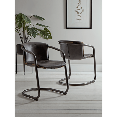 Byron Leather Dining Chair