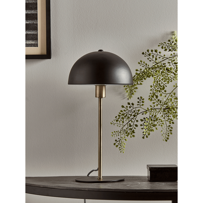 Black & Brass Rounded Desk Lamp (Sample)