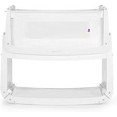 SnuzPod 3 Bedside Crib 3-in-1 with Mattress in White