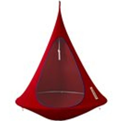 Single Hanging Cacoon in Chili Red