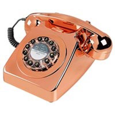 RETRO TELEPHONE 746 in Brushed Copper