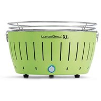 Lotus Grill XL BBQ in Green with Free Lighter Gel & Charcoal