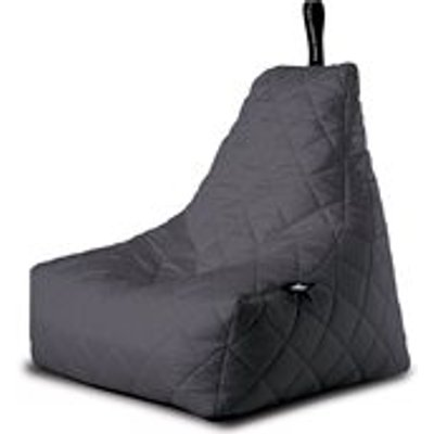Extreme Lounging Mighty B-Bag Quilted Bean Bag in Grey