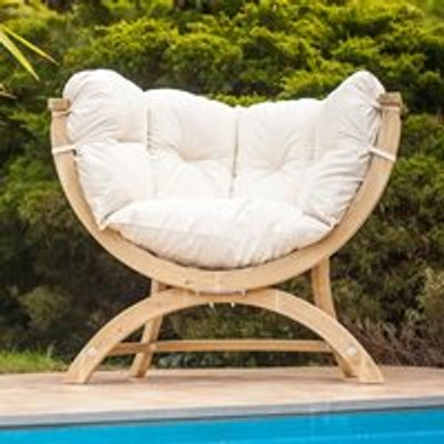 Siena Uno Garden Chair in Natura Cream