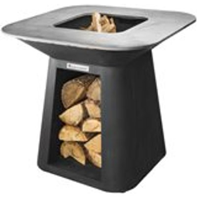 Quan Rondo Premium Large Wood Fired BBQ - Carbon