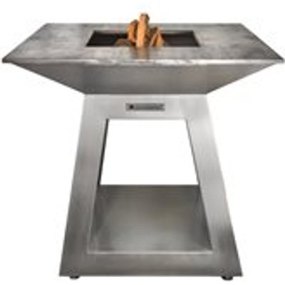 Quan Quadro Air Premium Large Wood Fired BBQ - Corten