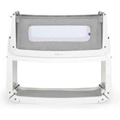 SnuzPod 3 Bedside Crib 3-in-1 with Mattress in Dusk Grey