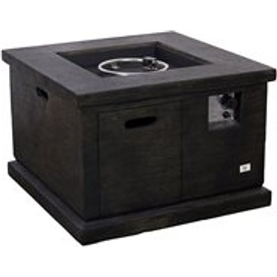 Foremost Outdoor Square Gas Fire Pit