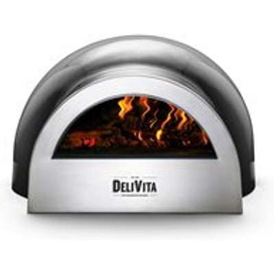 DeliVita Outdoor Pizza Oven in Very Black - DeliVita Wood-Fired Chefs Collection