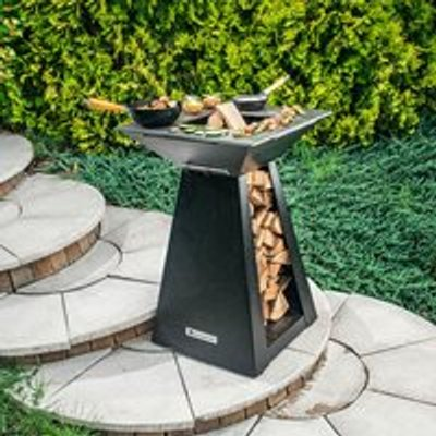 Quan Quadro Small Wood Fired BBQ - Carbon