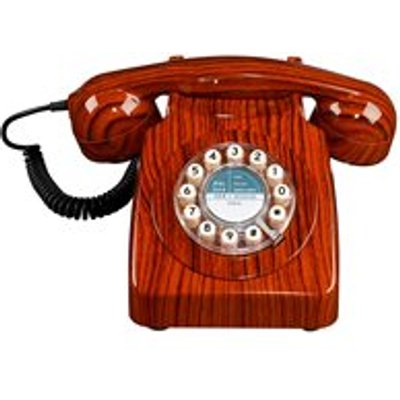Retro 746 Telephone in Wood Effect