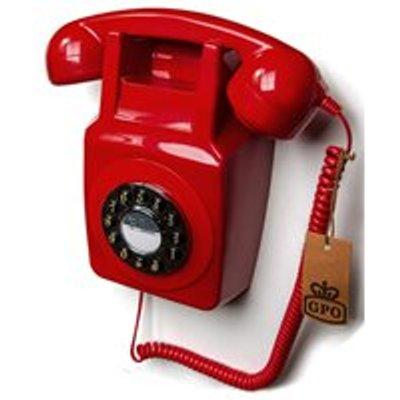 GPO Retro Wallphone 746 in Red