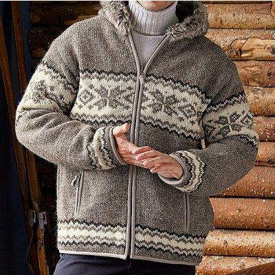 Yukon Lined Hooded Cardigan
