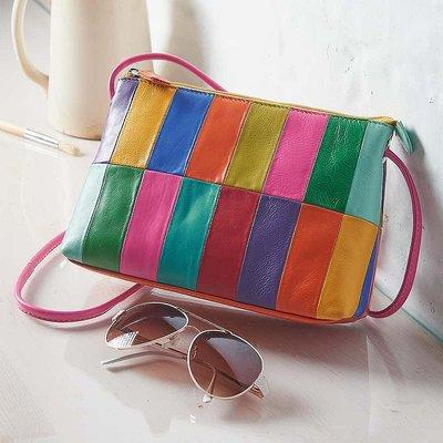 Cubist Leather Bag