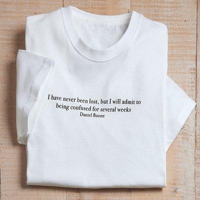 Men's Never Been Lost T Shirt