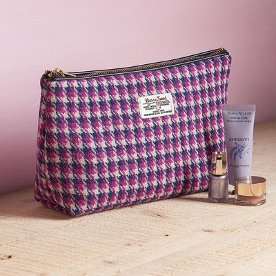 Heathers Harris Tweed Washbag