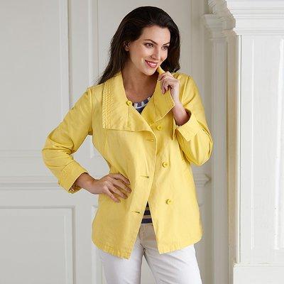 Dinard Yellow Cotton Jacket