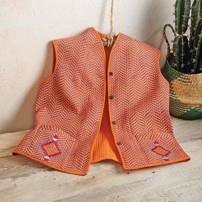 Navajo Embroidered Waistcoat