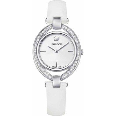 Swarovski Stella Watch, White, Stainless Steel