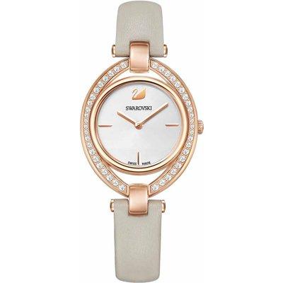 Swarovski Stella Watch, Grey, Gold Plated