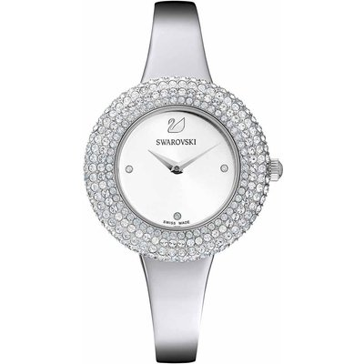 Swarovski Crystal Rose Watch, Stainless Steel