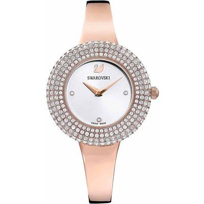 Swarovski Crystal Rose Watch, White, Rose Gold Plated