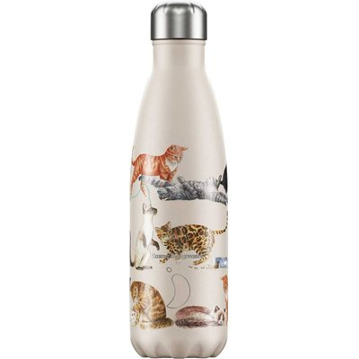 Chilly's 500ml Emma Bridgewater Cats Water Bottle