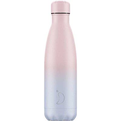 Chilly's 500ml Gradient Blush Water Bottle