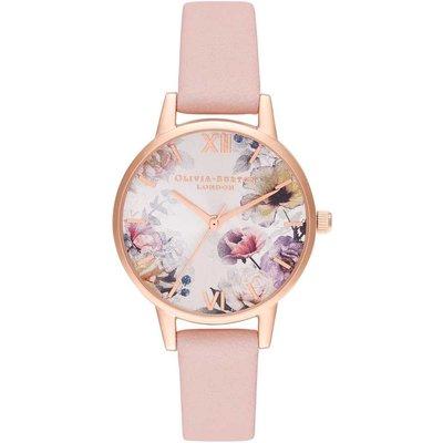 Olivia Burton Sunlight Florals Dusty Pink & Rose Gold Watch