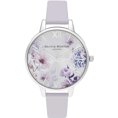 Olivia Burton Sunlight Florals Demi Parma Violet & Silver Watch