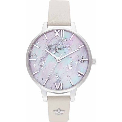 Olivia Burton Celestial Silver Mother of Pearl  Dial Watch