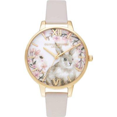 Olivia Burton Bunny Vegan Blush & Gold Watch