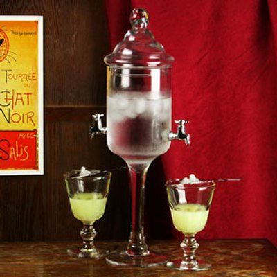 Glass Absinthe Fountain (Case of 4)