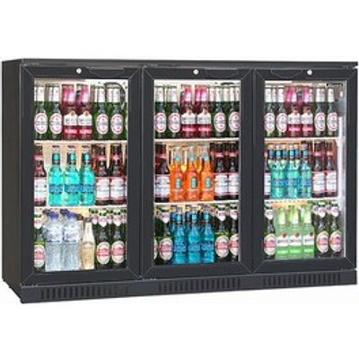 Blizzard BAR-3 Bottle Cooler Black (Hinged Door)