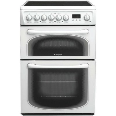 Hotpoint 60HEPS 60cm Wide Freestanding Electric Cooker in Polar White - 5016108810262