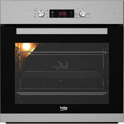 Beko CIM91X Built In Programmable Multifunction Electric Single Oven Stainless Steel