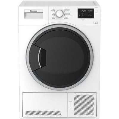 Blomberg LTK28021W 8kg Condenser Tumble Dryer White