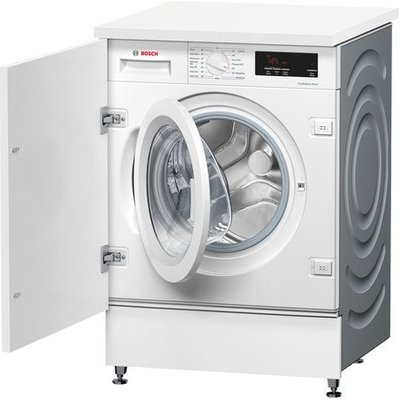 Bosch WIW28301GB Integrated Washing Machine 8kg - White - A+++ Energy Rated
