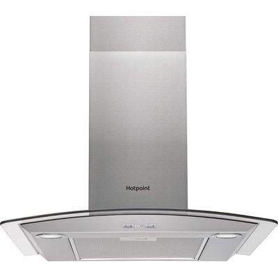 Hotpoint PHGC7 5FABX Built in Cooker Hood   Stainless Steel - 5016108949795