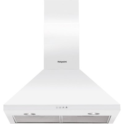 Hotpoint PHPC 6 4F AM W Built in Cooker Hood in White - 5016108949801