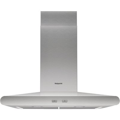 Hotpoint PHC67FLBIX Built in Cooker Hood in Stainless Steel - 5016108949818