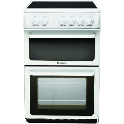 Hotpoint HAE51PS Electric Cooker  White - 5016108810095