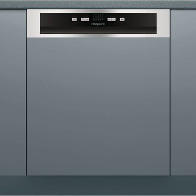 Hotpoint HBC2B19 X Integrated Dishwasher  Silver - 5054645052240