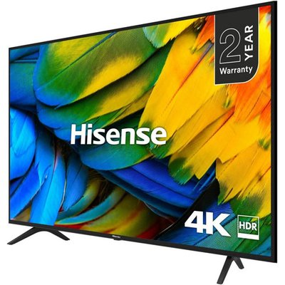 Hisense H55B7100UK 55 Inch 4K UHD HDR Smart TV with Freeview Play